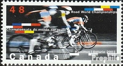 Canada 2138 (complete.issue.) unmounted mint / never hinged 2003 Cycling