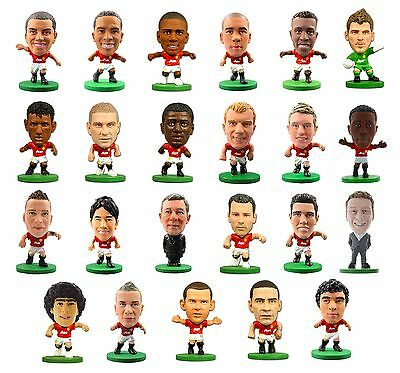OFFICIAL FOOTBALL CLUB - MANCHESTER UNITED SoccerStarz Figures NEW PLAYERS)