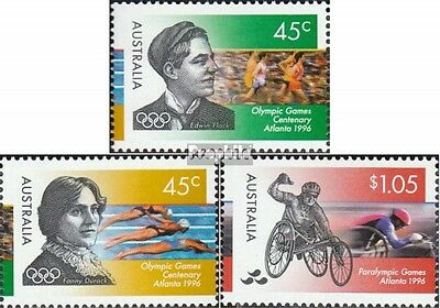 Australia 1579-1581 (complete.issue.) unmounted mint / never hinged 1996 Olympic