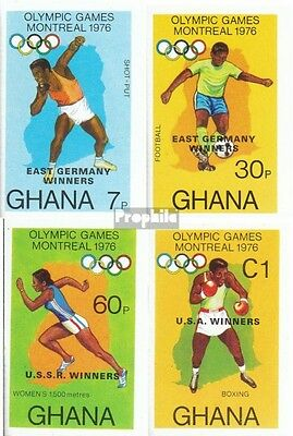 Ghana 686B-689B (complete.issue.) unmounted mint / never hinged 1977 Olympia