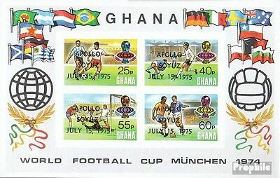 Ghana Block60B (complete.issue.) unmounted mint / never hinged 1975 Apollo