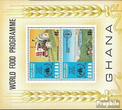Ghana Block52 (complete.issue.) unmounted mint / never hinged 1973 Nutrition