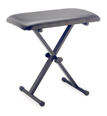 Stagg KEB-A20 Adjustable X-Style Keyboard Bench (NEW)