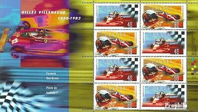 Canada block22 (complete.issue.) unmounted mint / never hinged 1997 villeneuve