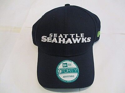 Seattle Seahawks 9Forty Cap By New Era Size Adults Adjustable Brand New