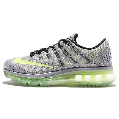 Wmns Nike Air Max 2016 Grey Volt Women Running Shoes Sneakers 806772-017