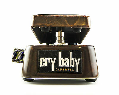 New Dunlop JC95 Jerry Cantrell Signature Cry Baby Wah Pedal *Free Patch Cable*