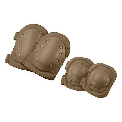 Barska Optics BI12302 CX-400 Tactical Elbow and Knee Pads, Tan