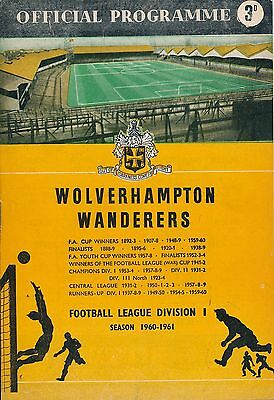 CUP WINNERS CUP SEMI FINAL 1961: Wolves v Rangers