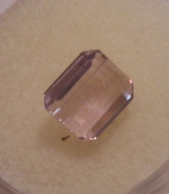 VVS PINK KUNZITE TOP END PREMIUM GEMSTONE 2.53 CARAT 7.8x6.6x5.5MM