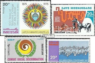 Pakistan 406,410,427,429 (complete.issue.) unmounted mint / never hinged 1976 Ar