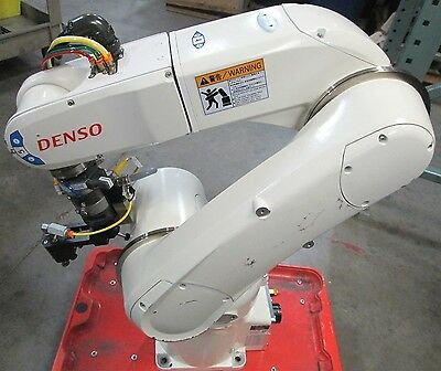 Denso VS-6577EM-P100 Cleanroom 6-Axis Articulated Robot w/ Tool Change Adapter