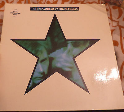 Jesus and Mary Chain LP record 12 2 inch Automatic 1989