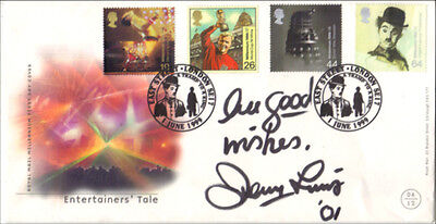 Comedy Legend Jerry Lewis Hand Signed Entertainers Tale Autographed FDC