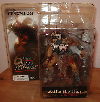 McFarlane Monsters Series 3 Six Faces of Madness Attila the Hun  Figur Ovp