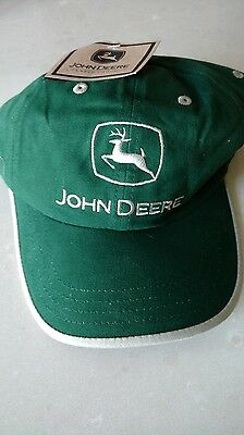 John Deere Green Hat New Logo Mint never used with tags!