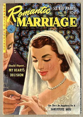 Romantic Marriage (1950) #11 GD 2.0