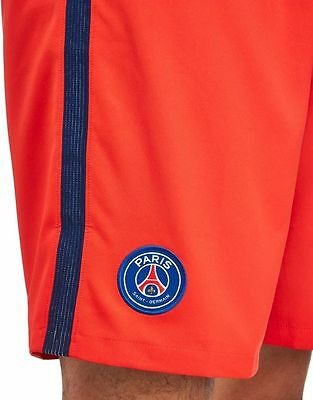 brand new with tags mens Nike Paris Saint Germain 2016/17 Away Shorts PSG S red