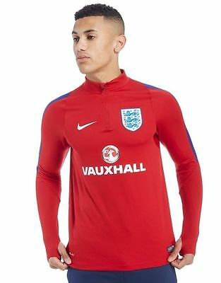 brand new with tags mens Nike England 2016 Drill Top small red