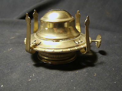 """Victorian style """"2"""" size Queen Anne replacement Brass Oil Lamp Burner & Collar"""