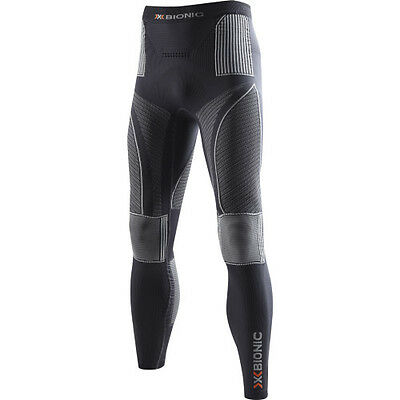 X-bionic Evo Pant Hommes Seconde Peau - Charcoal Pearl Grey Toutes Tailles