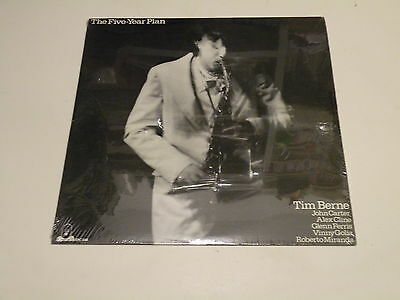 Tim Berne - The Five-Year Plan - Lp 1979 Empire Producions U.s.a. - New! Sealed!