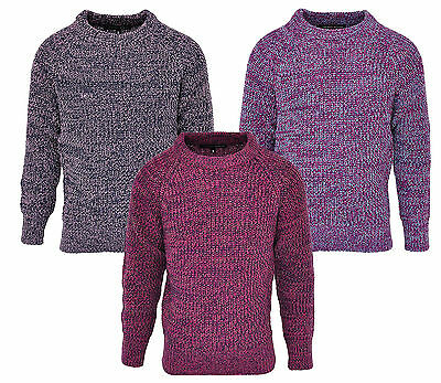 Girls Chunky Knit Speckled Fashion Jumper 6 to 12 Years CLEARANCE SALE