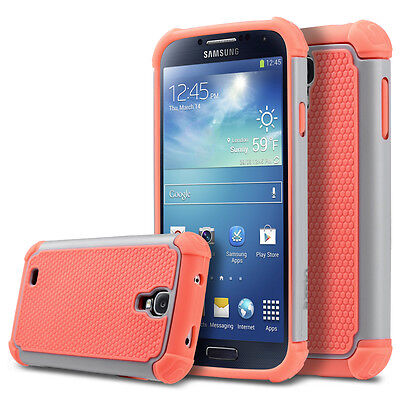 Hybrid Rubber Slim Cover Soft Silicone Skin Case for Samsung Galaxy S4 S IV • $6.95