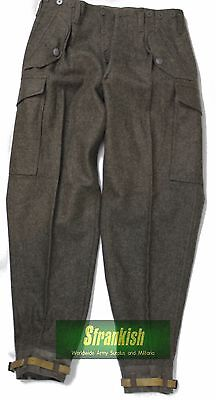 Genuine New Old Stock 1958 Dated Swedish Army M39 / M58 Combat Wool Trousers
