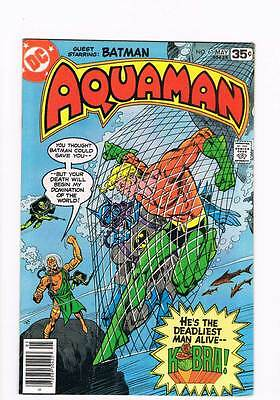 Aquaman # 61 The Armageddon Conspiracy ! grade 9.0 scarce book !!