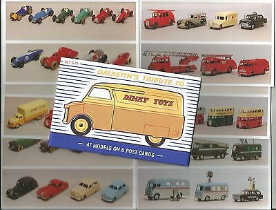 Dalkeith's Cards of Style - Tribute to Dinkey Toys - PPC set S28