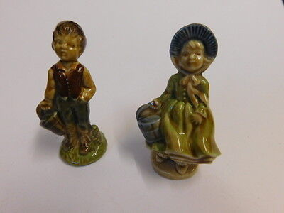 Large Size Wade Whimsies Jack And Jill. Nursery Rhymes.