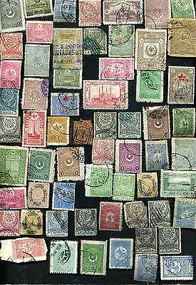 Very old stamps of Turkey.