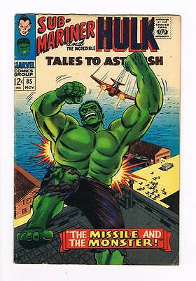 Tales to Astonish # 85 Missile and the Monster !  grade 6.0  hot book !!