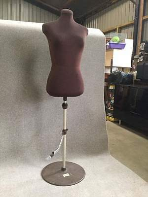 Vintage Adjustable Tailor's / Dressmaker's Dummy on Stand    #552