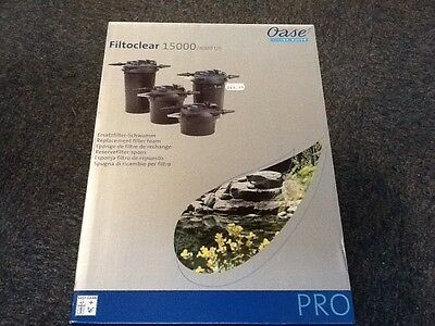 Oase Filtoclear 15000 Pro Replacement Filter Foam Set Koi Fish Pond