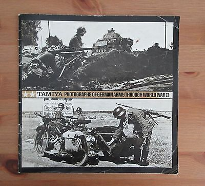 Photographs of German army in WW2 - Tamiya reference book
