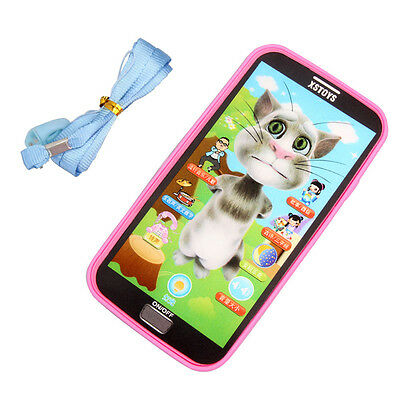 1pc Baby Simulator Music Phone Touch Screen Children Educational Learning Toy