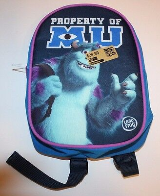 Monsters University Carrying Case BackPack for LeapPad tablets - BRAND NEW