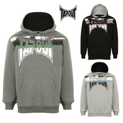 Tapout Men's  Hoodie Large MMA Cage Fighting Training Casual Top 3 Colours