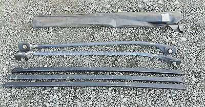 Land Rover Discovery 1 Roof Rail Set With Cross Bars