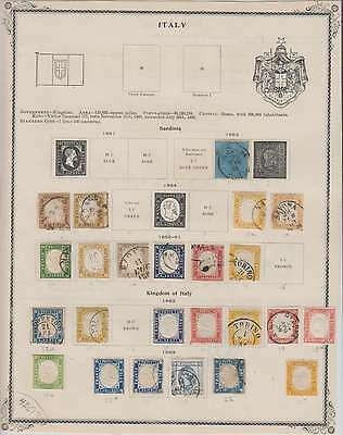 B7963: 19th C Italy Stamp Collection; CV $8965