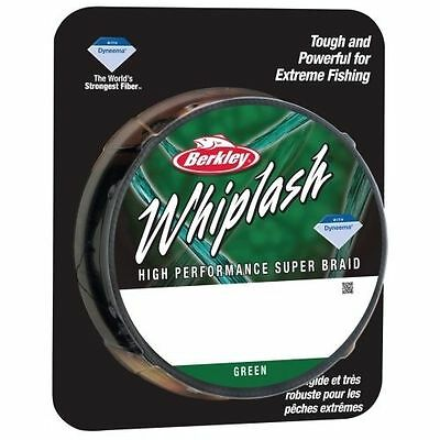 Berkley Whiplash Green Braid 300 metres 330 yards -CLOSING DOWN CLEARANCE!!