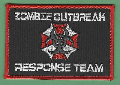 Resident Evil Zombie Outbreak Response Team Patch