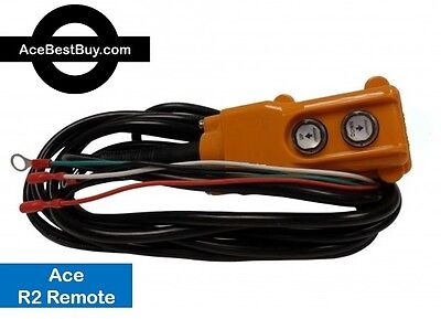 R2, 4 Wire Ace Remote Control - for POWER DOWN hydraulic pump 12 or 24 volt