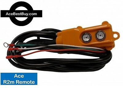 R2m, 4 Wire Ace Remote Control - POWER DOWN hydraulic pump MAGNETS 12 or 24 volt