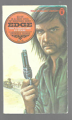 TEN TOMBSTONES TO TEXAS by George G. Gilman 1976 Book Edge Western