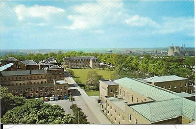 LEICESTER, The University,From Charles Wilson Building, postcard,