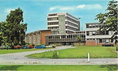 LOUGHBOROUGH Colleges, Leicestershire, postcard,