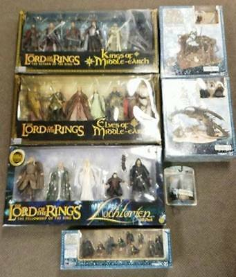 BIG LOT Lord of the Rings Action Figure Deluxe Special Gift Packs ToyBiz SEALED!